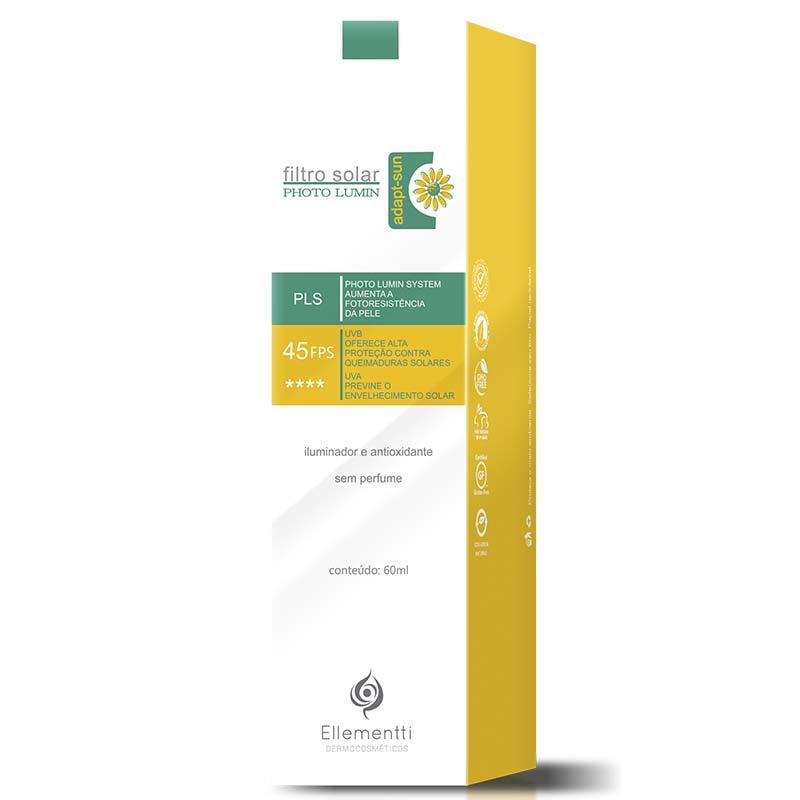 PHOTO LUMIN Protetor Solar Clareador de Manchas 97% de Proteção UVA – 45FPS  60ml. Promoção. protetor solar clareador 772689d2da