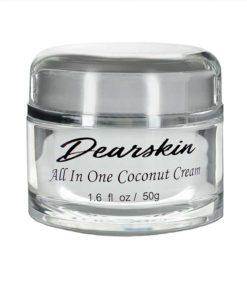 óleo de coco creme hidratante dearskin