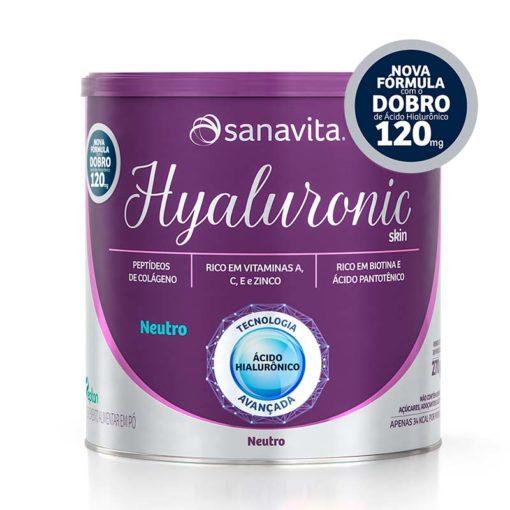 hyaluronic skin sanavita colageno 120MG