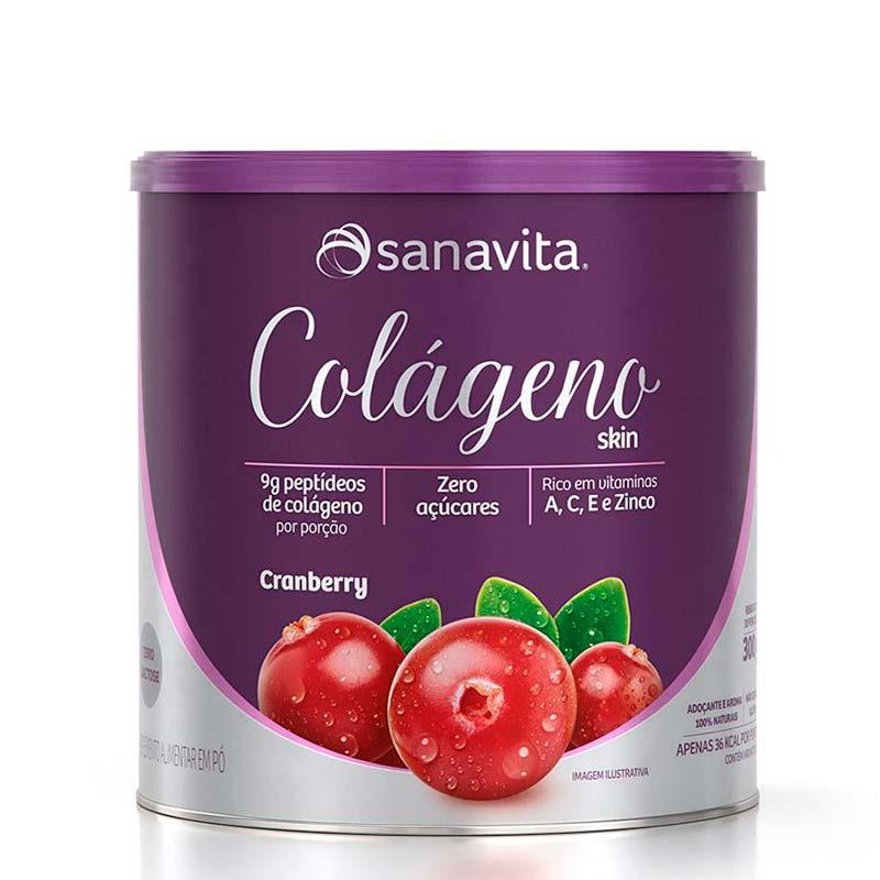 Colágeno Skin Cranberry colageno sanavita