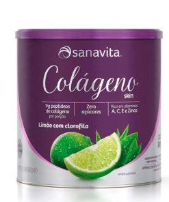 colágeno sanavita limão skin limão com clorofila sanavita