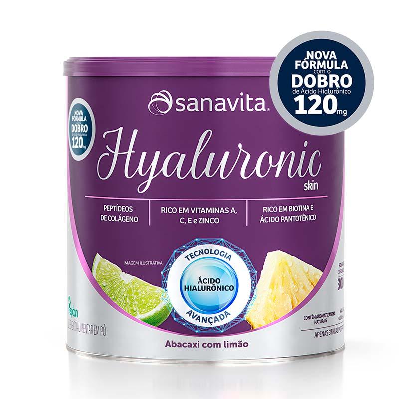 hyaluronic skin abacaxi com limão 120mg