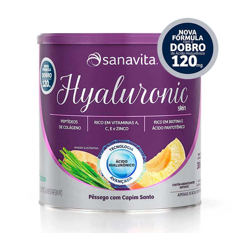 hyaluronic pêssego com capim santo sanavita