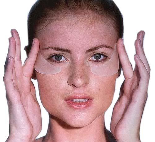 adesivos silicone pequenas áreas adesivo olhos