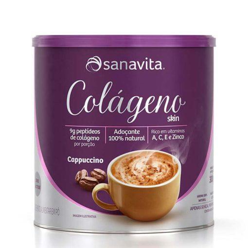 colágeno skin cappuccino sanavita