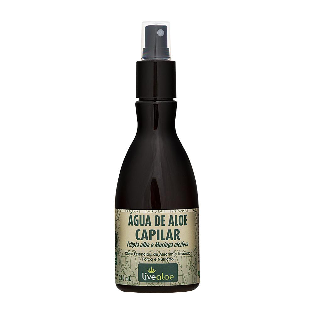 água de aloe vera capilar tonico capilar