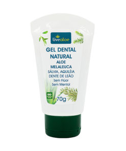 Gel Dental Natural Aloe Vera Melaleuca live aloe