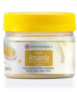 argila amarela phtytoterapica