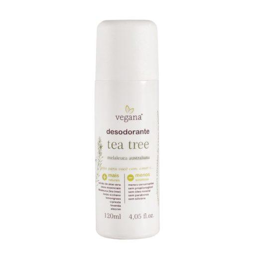Desodorante Tea Tree desodorante Melaleuca 120ml Vegana WNF