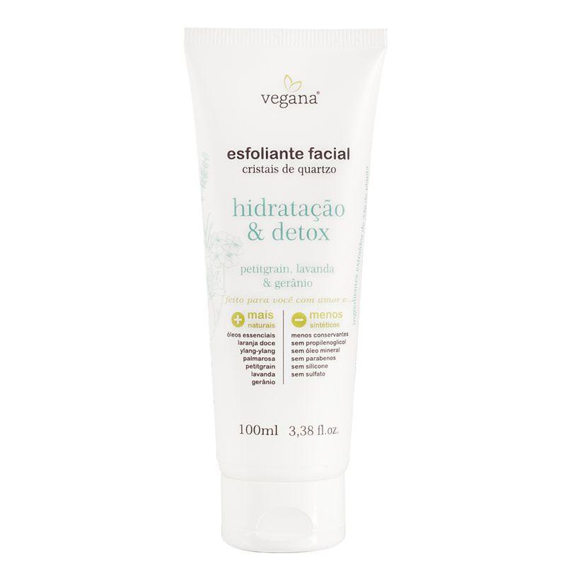 Esfoliante Facial Hidratação & Detox - 100ml vegana wnf