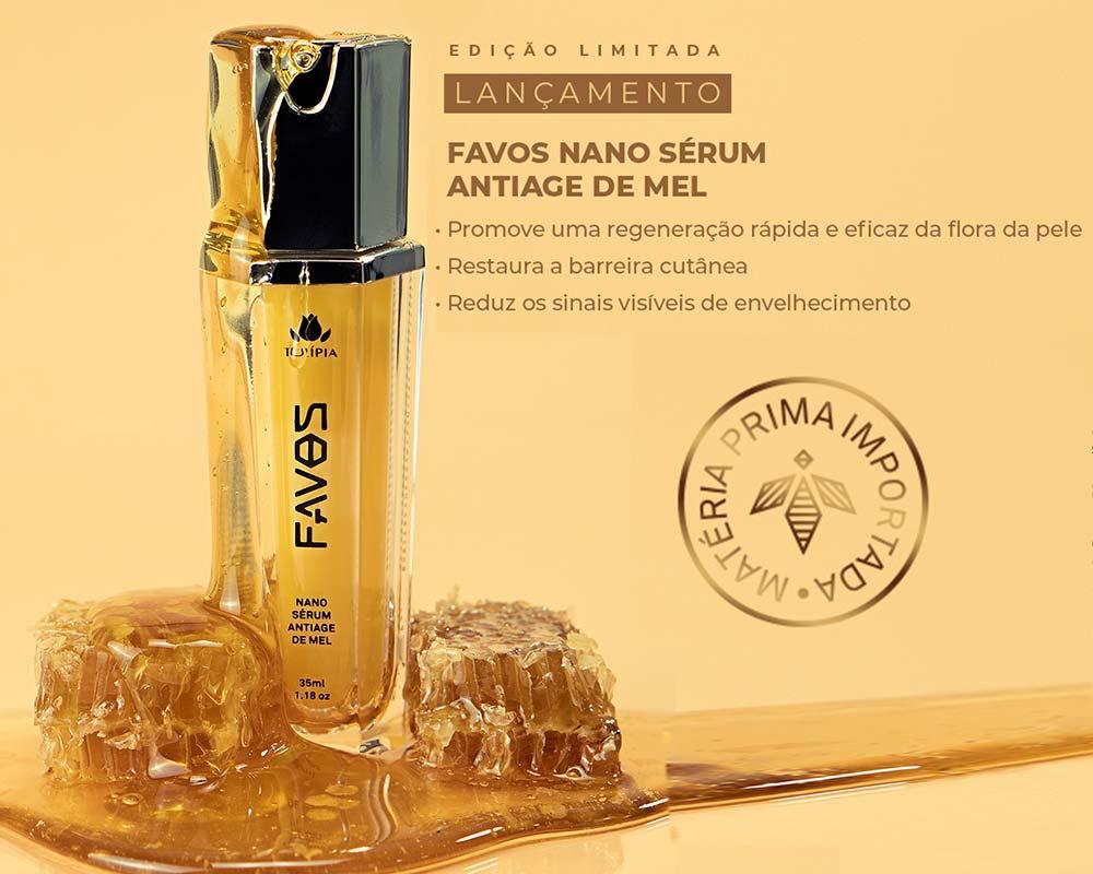 favos serum tulipia serum de mel