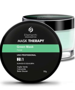 Mask Therapy Green Mask Argila Verde - 50g ellementti