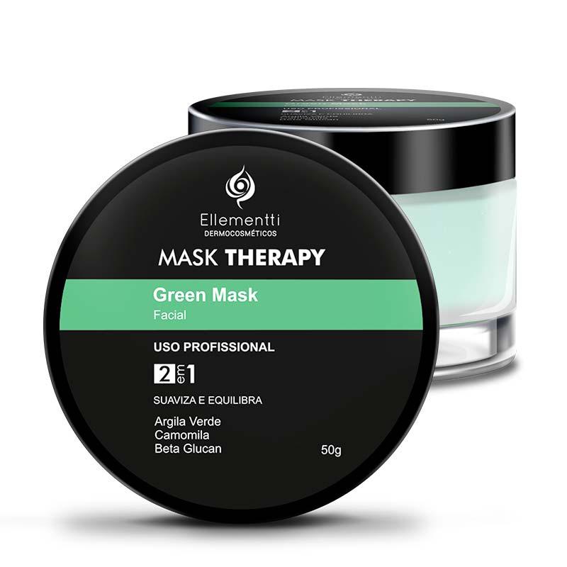 Mask Therapy Green Mask Argila Verde - 50g ellementti