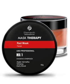 Mask Therapy Red Mask Argila Vermelha - 50g ELLEMENTTI