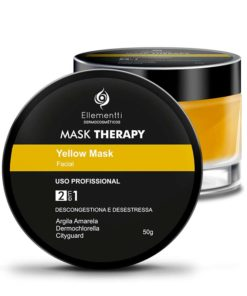 Mask Therapy Yellow Mask Argila Amarela - 50g ELLEMENTTI