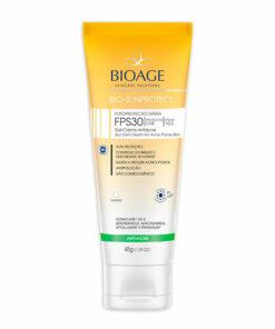 protetor solar anti acne BIO-SUNPROTECT GEL-CREME ANTIACNE FPS 30 - 45G