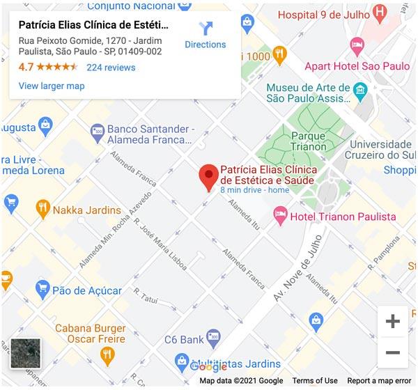 mapa clinica patrícia elias