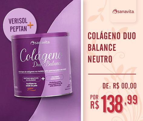Colágeno Duo Balance Sanavita Patricia Elias