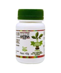 Adoçante Stévia Color Andina 20g Adoçante 100% Natural
