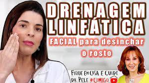 Drenagem Facial para Rugas, Desinchar o Rosto e Mais #FiqueEmCasa e Cuide da Pele #Comigo